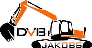 Logo Homepage Webseite DVB Jakobs Bagger Schriftzug